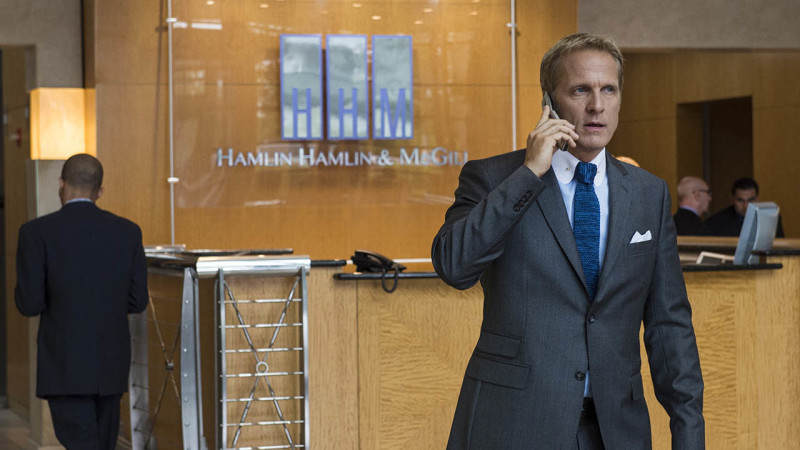 Patrick Fabian as Howard Hamlin - Better Call Saul _ Season 1, Episdoe 9 - Photo Credit: Ursula Coyote/AMC
